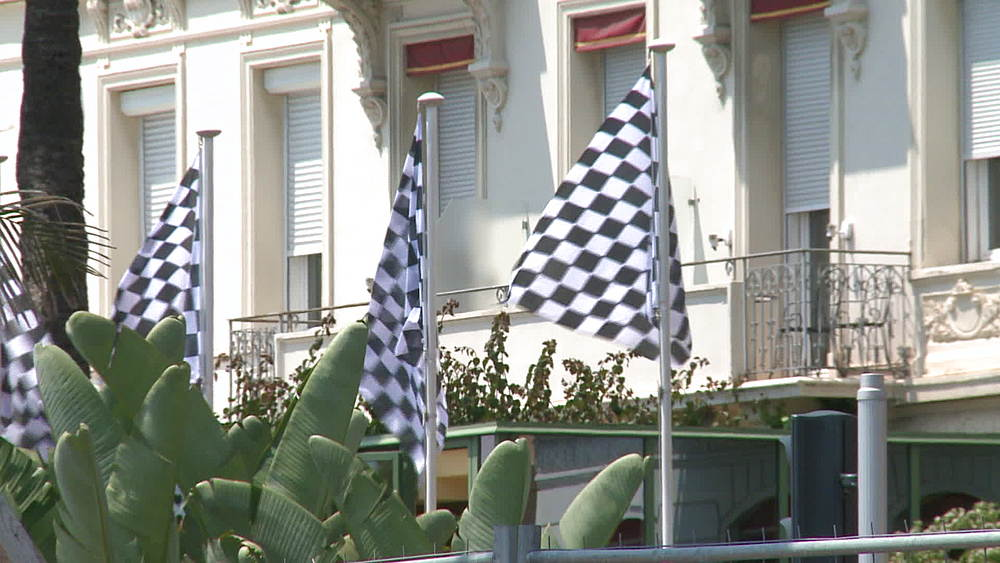 chequered flags - 1031-2190