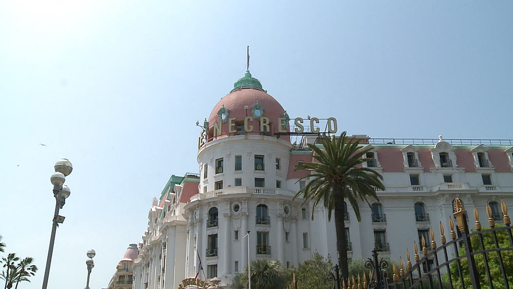 Le Negresco hotel po from sign to ws - 1031-2208