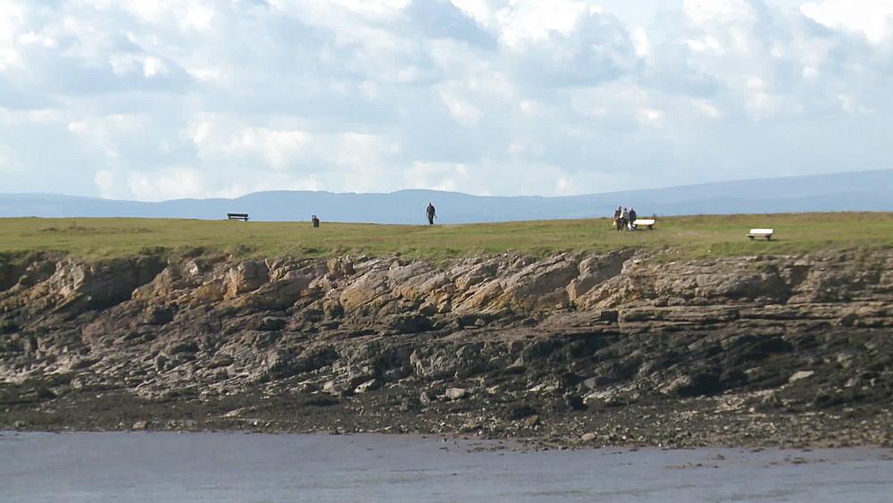 people walking on headland - 1031-2216