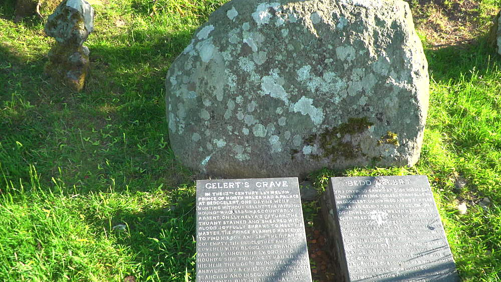 grave and inscription of legendary dof Gelert - 1031-2357