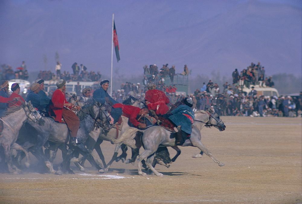 Royal Buzkashi, Kabul, Afghanistan, Asia
