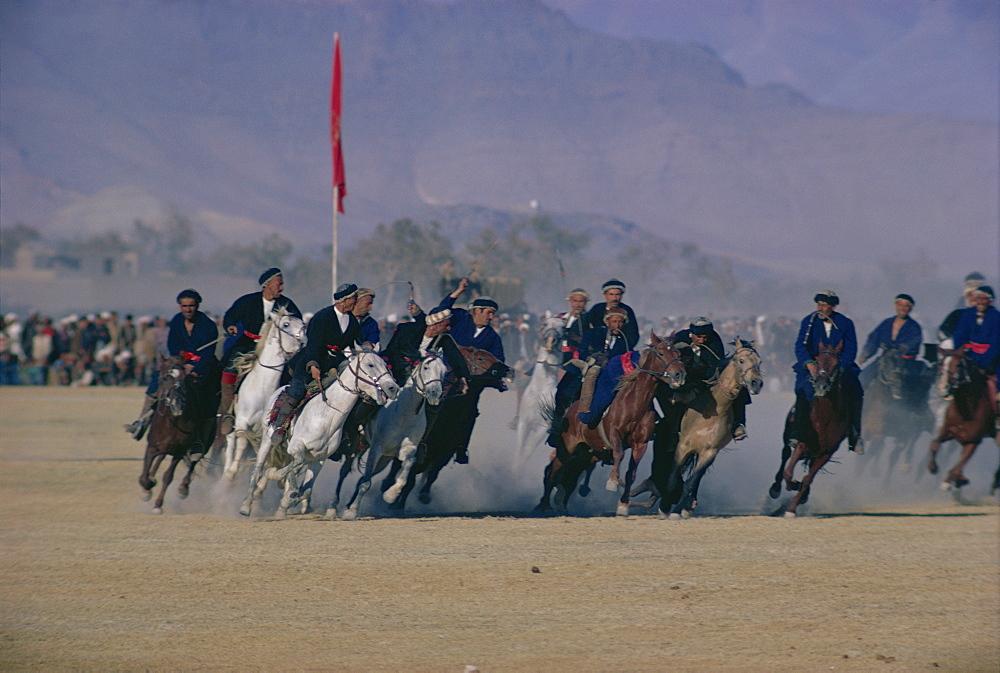 Buzkashi, Kabul, Afghanistan, Asia - 105-521