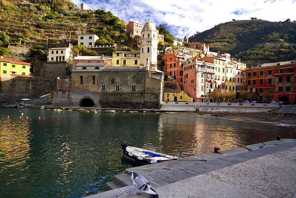 Port of Vernazza in the Cinque Terre - 1061-34