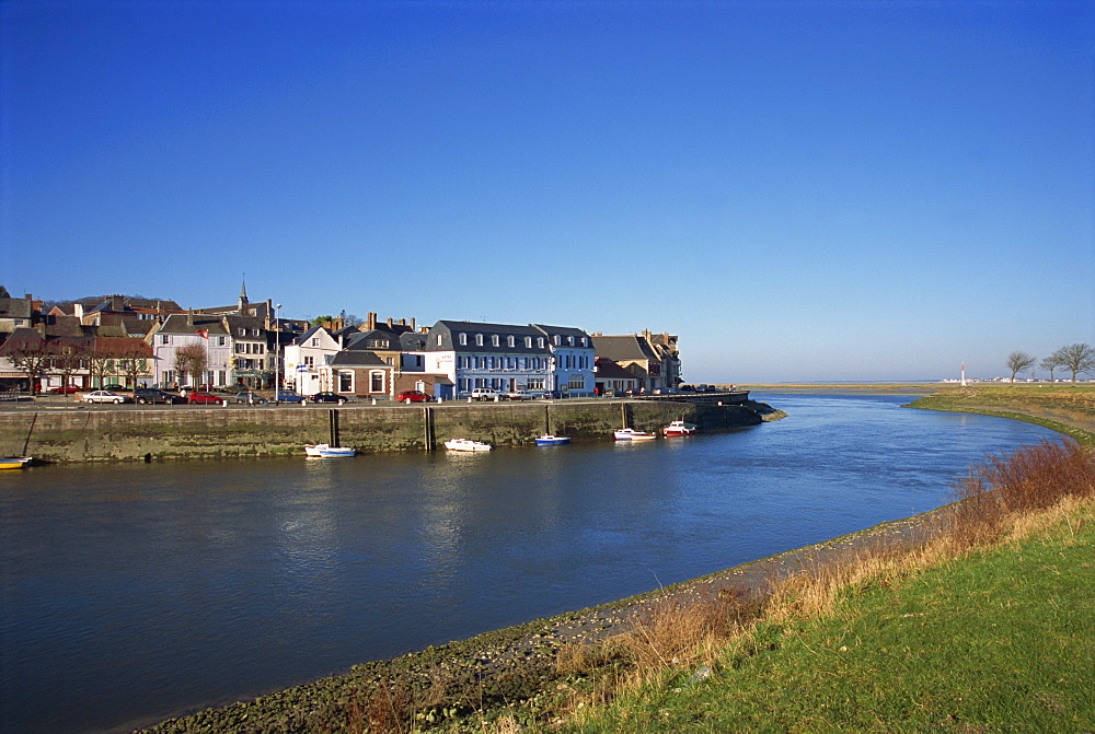 Somme estuary, St. Valery sur Somme, Picardie, France, Europe - 11-879
