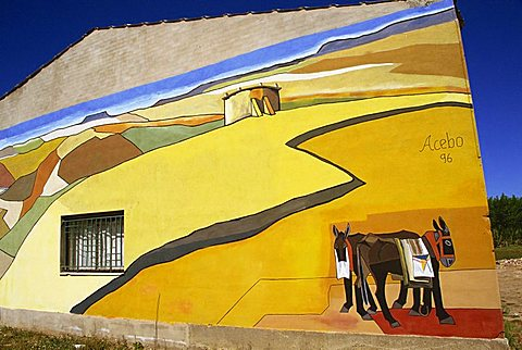 Itero de la Vega, Palencia, Castilla y Leon, Spain, Europe