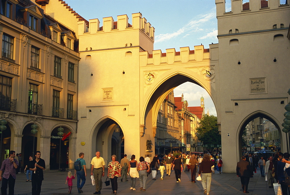 Karl's Gate (Tor), Munich, Bavaria, Germany, Europe - 110-16560