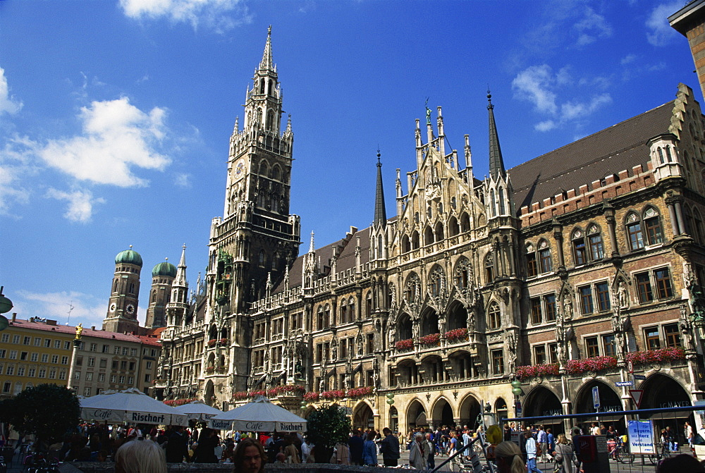 New City Hall, Marienplatz, Munich, Bavaria, Germany, Europe - 110-16623