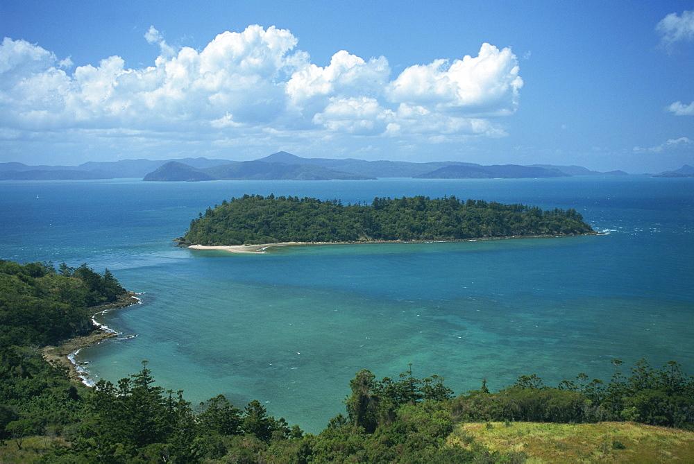 View to Planton Island, South Molle Island, Whitsundays, Queensland, Australia, Pacific