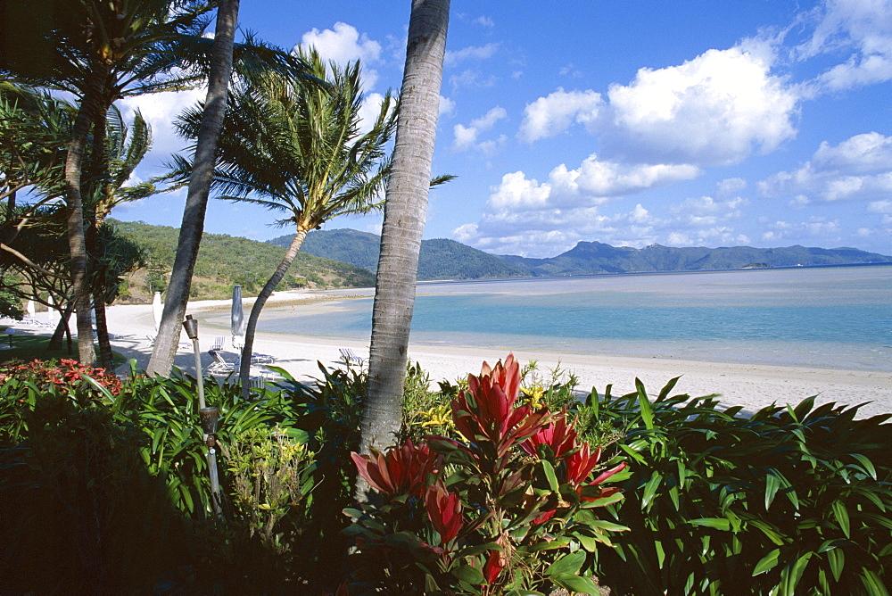 Resort beach, Hayman Island, Whitsundays, Queensland, Australia, Pacific