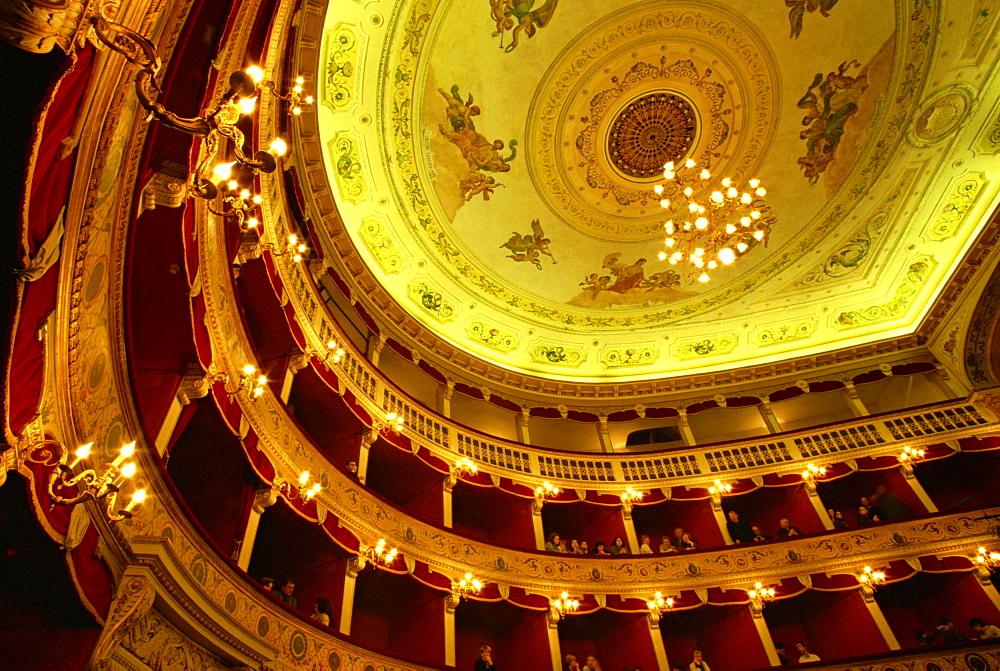 Teatro Pirandello theatre, Agrigento, Sicily, Italy, Europe - 110-19039