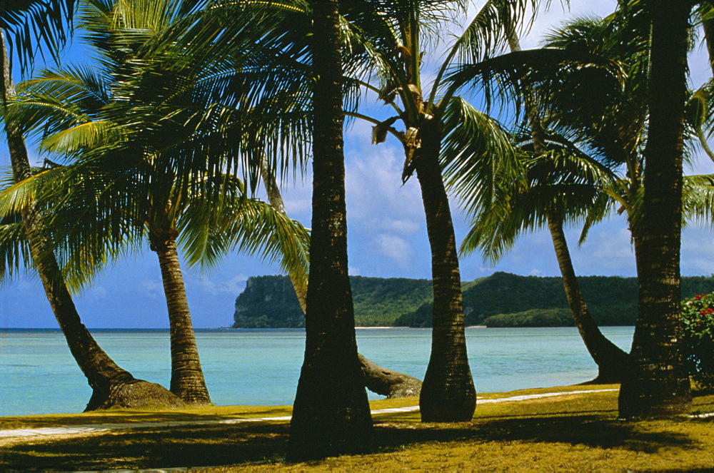 Beach view, Guam, Pacific