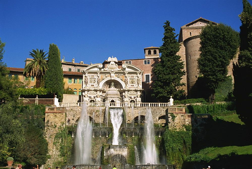 Villa d'Este, UNESCO World Heritage Site, Tivoli, Lazio, Italy, Europe - 110-20211