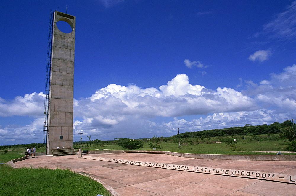 Marco Zero, Equator Line, Macapa, Brazil, South America - 110-4074