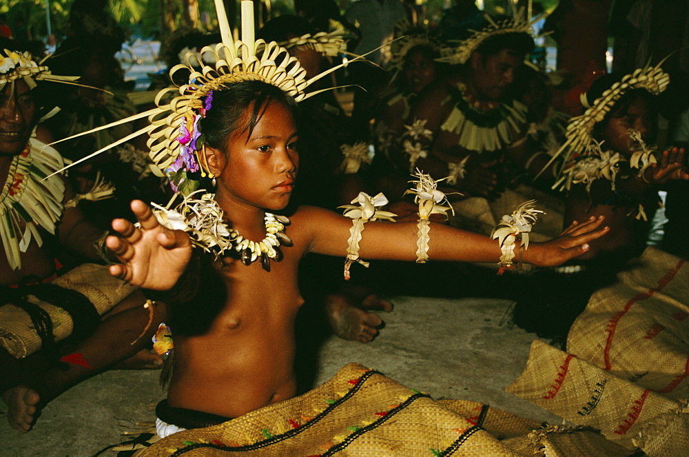 Dancer, Christmas Island, Kiribati, Pacific