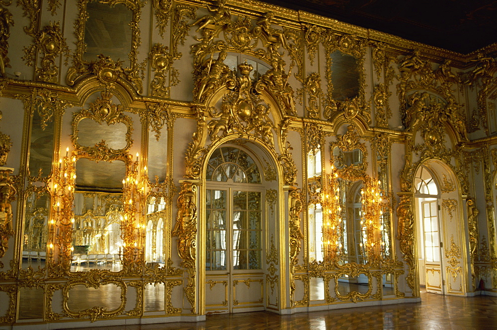 Catherine Palace, Pushkin, Russia, Europe
