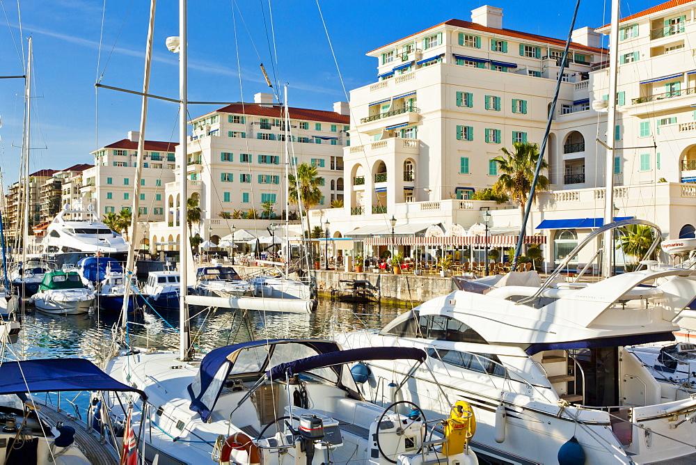 Queensway Quay Marina, Gibraltar, Mediterranean, Europe - 1102-36