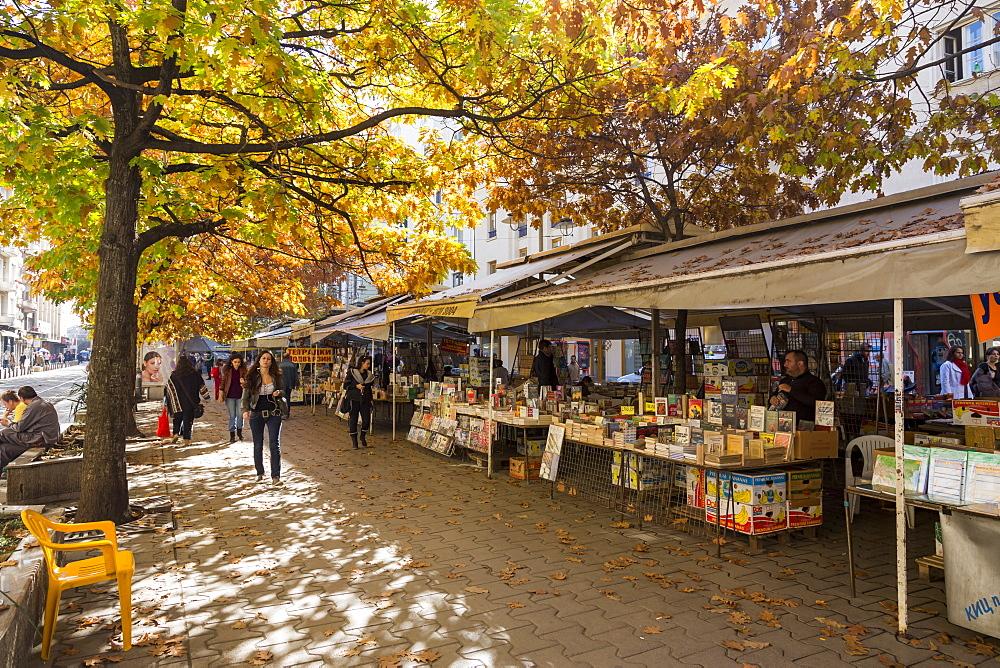 Ploshtad Petko R. Slaveykov Market, Sofia, Bulgaria, Europe - 1102-67