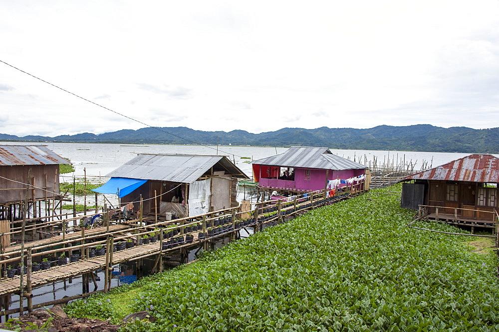 Tondano Lake, Sulawesi, Indonesia, Southeast Asia, Asia