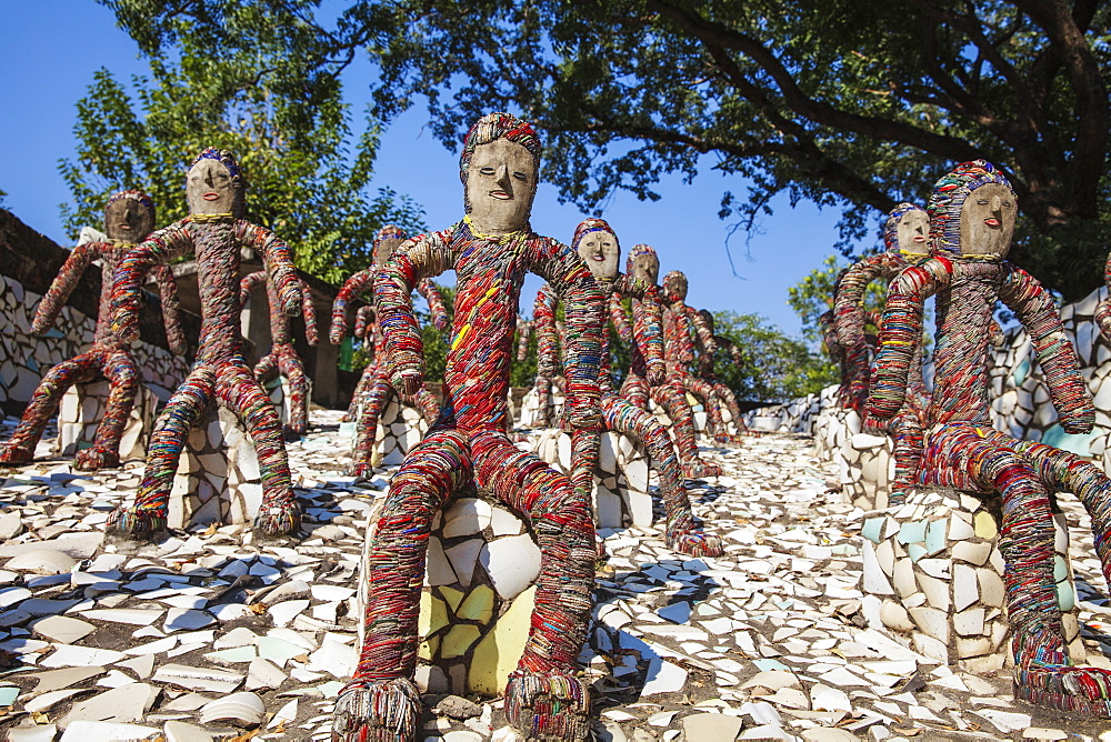 Nek Chand's Rock Garden, Chandigarh, Haryana and Punjab, India, Asia