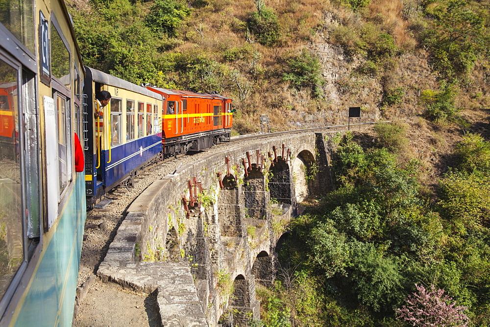 India, North-West India , The Kalka???Shimla Railway, The Himalay Queen toy train - 1104-1153