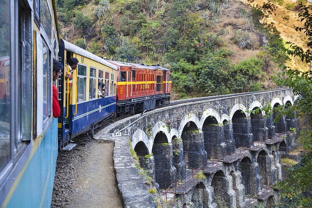 India, North-West India , The Kalka???Shimla Railway, The Himalay Queen toy train - 1104-1154