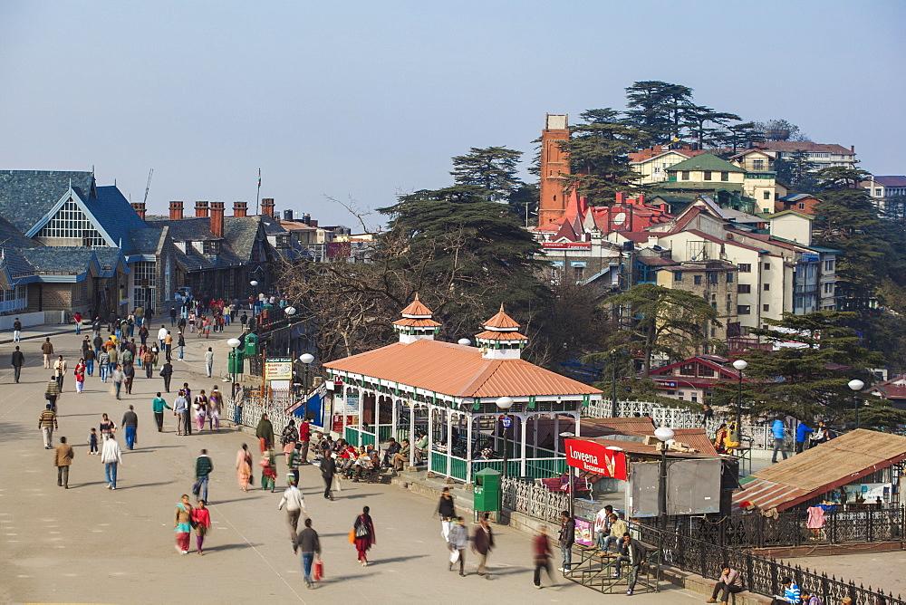 India, Himachal Pradesh, Shimla, The Ridge - 1104-1169