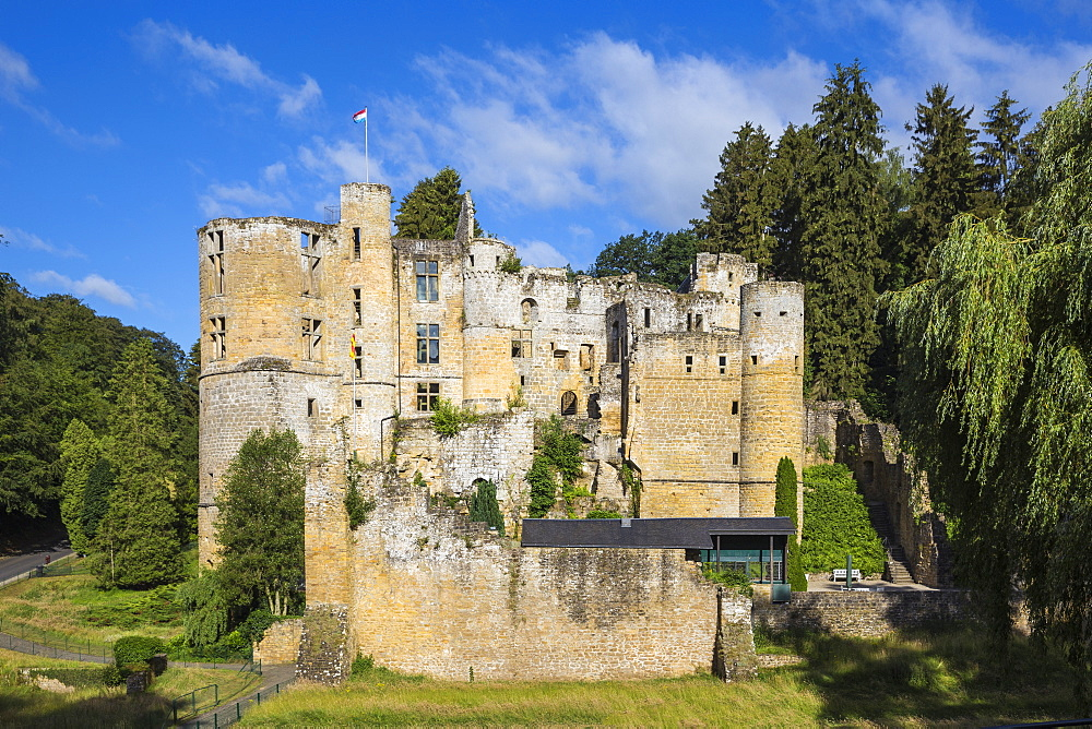 Beaufort Castle, Beaufort, Luxembourg, Europe
