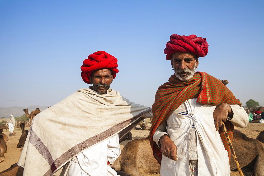 Pushkar Camel Fair, Pushkar, Rajasthan, India, Asia