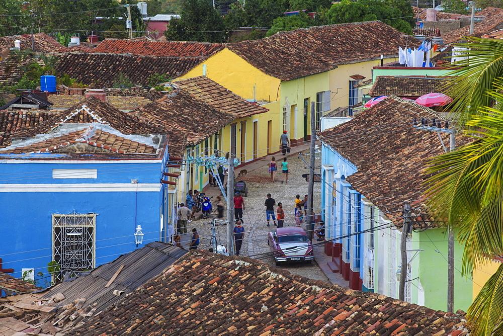 View of Trinidad, Sancti Spiritus Province, Cuba, West Indies, Caribbean, Central America