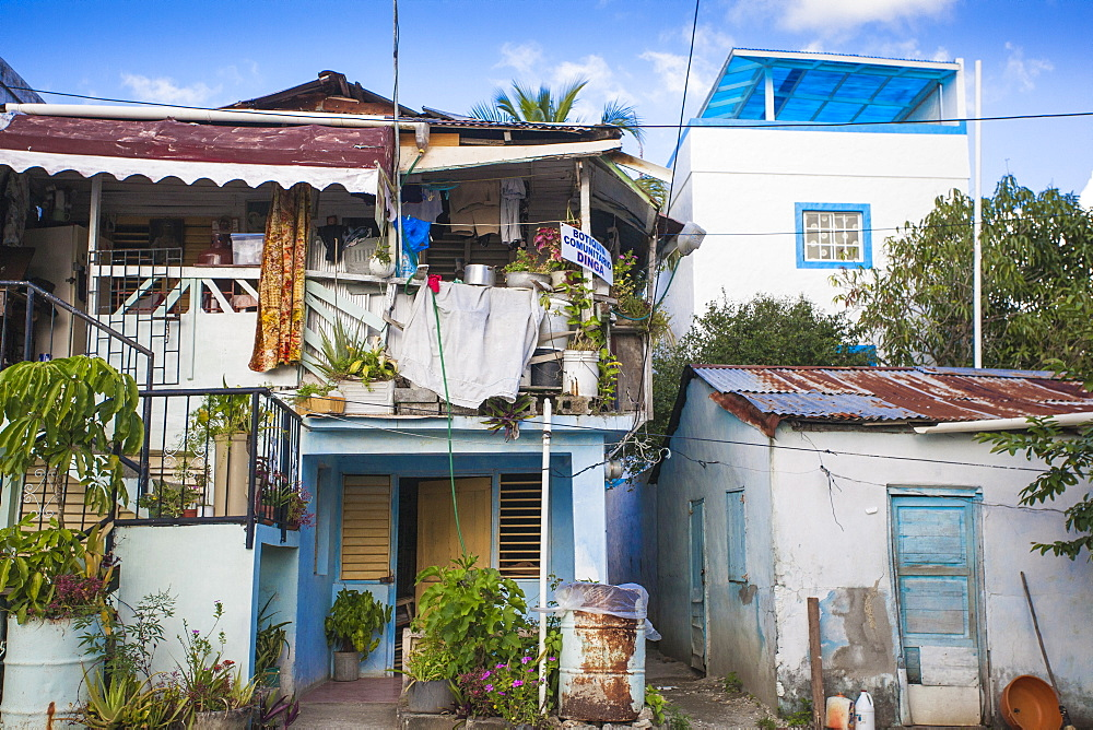 Dominican Republic, Houses, Rio San Juan, Dominican Republic, West Indies, Caribbean, Central America