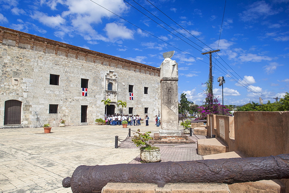 Museo de Las Reales, Colonial Zone, UNESCO World Heritage Site, Santo Domingo, Dominican Republic, West Indies, Caribbean, Central America