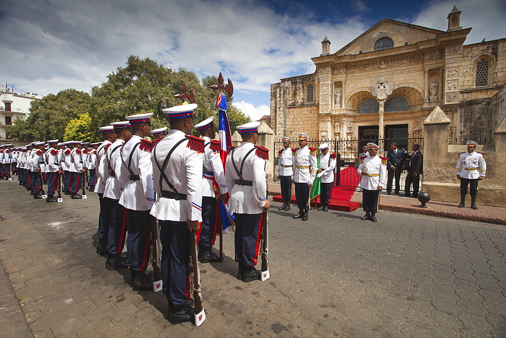 Independence Day celebrations, Colonial Zone, Santo Domingo, Dominican Republic, West Indies, Caribbean, Central America