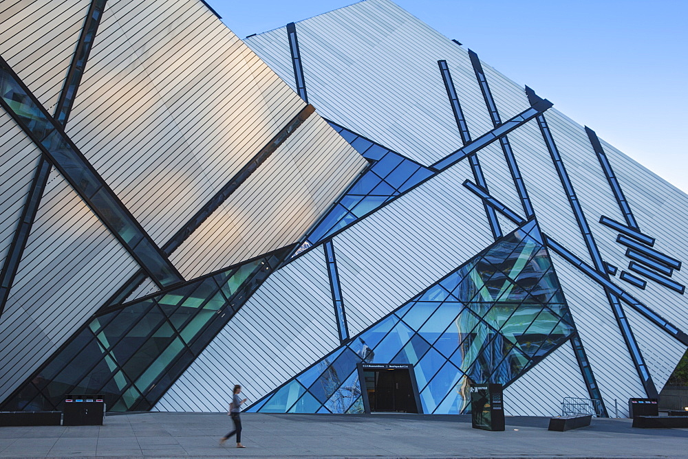 Michael Lee-Chin Crystal, Architect Daniel Libeskind, Royal Ontario Museum, Toronto, Ontario, Canada, North America