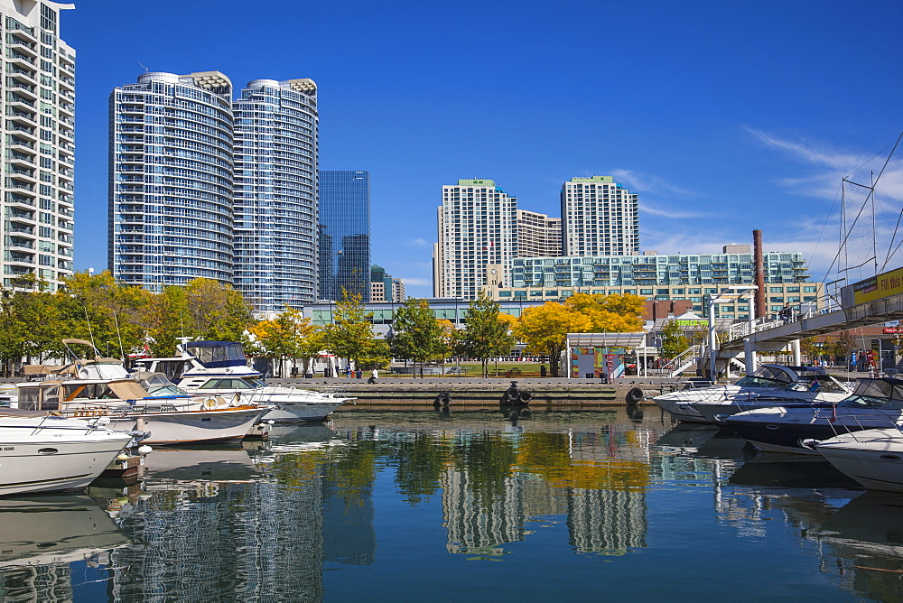 Toronto waterfront, Toronto, Ontario, Canada, North America