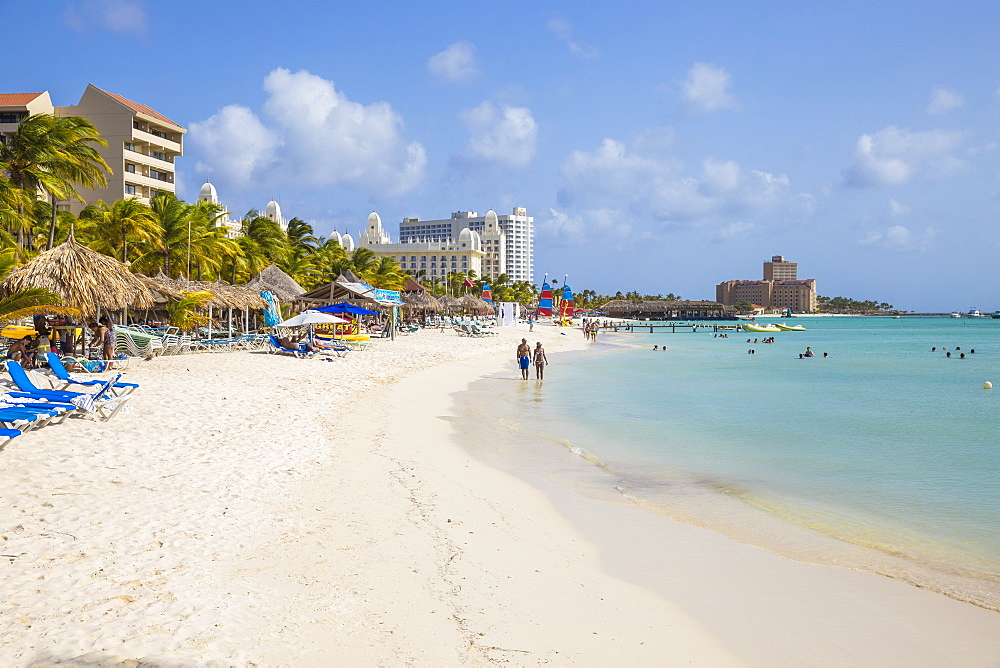 Palm beach, Aruba, Netherlands Antilles, Caribbean, Central America