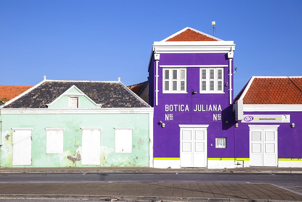 Pietermaai, Willemstad, Curacao, West Indies, Lesser Antilles, former Netherlands Antilles, Caribbean, Central America