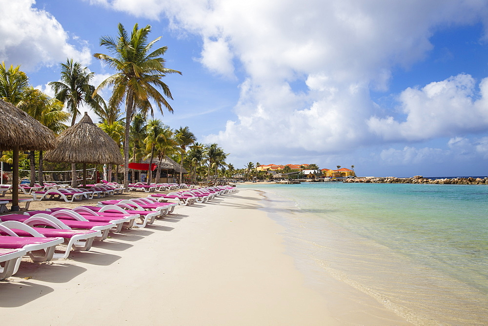 Mambo Beach, Willemstad, Curacao, West Indies, Lesser Antilles, former Netherlands Antilles, Caribbean, Central America