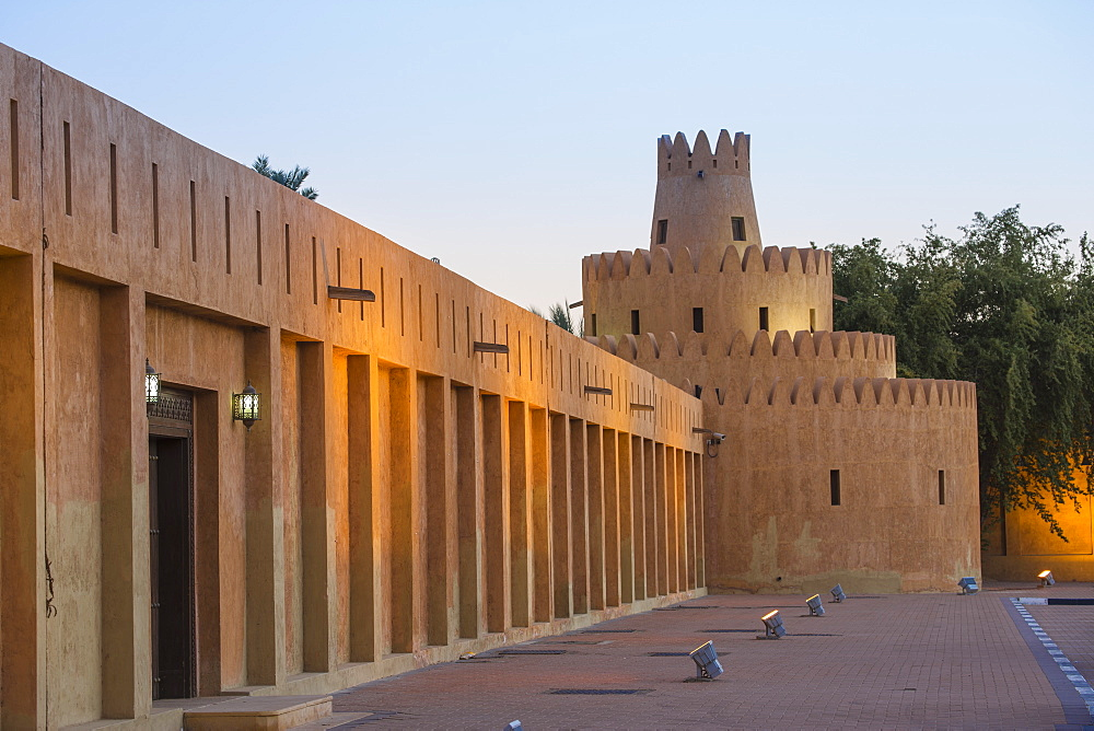 Al Ain Palace Museum, Al Ain, Abu Dhabi, United Arab Emirates, Middle East