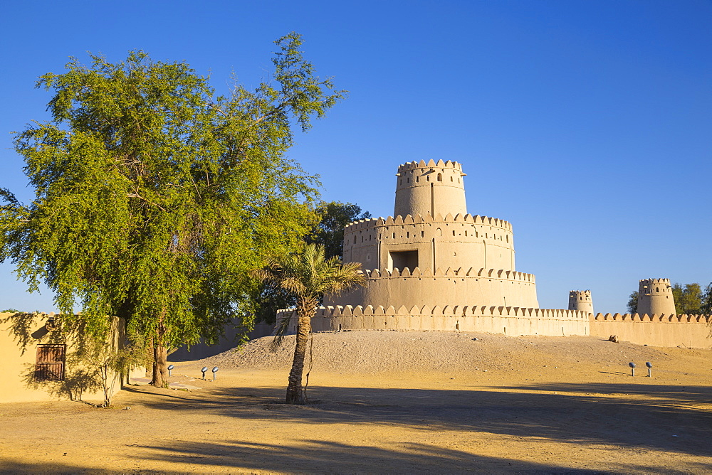 Al Jahili Fort, Al Ain, UNESCO World Heritage Site, Abu Dhabi, United Arab Emirates, Middle East