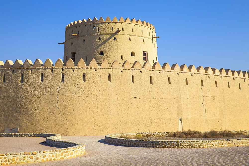 Hili Fort and watchtower, Hili, Al Ain, UNESCO World Heritage Site, Abu Dhabi, United Arab Emirates, Middle East