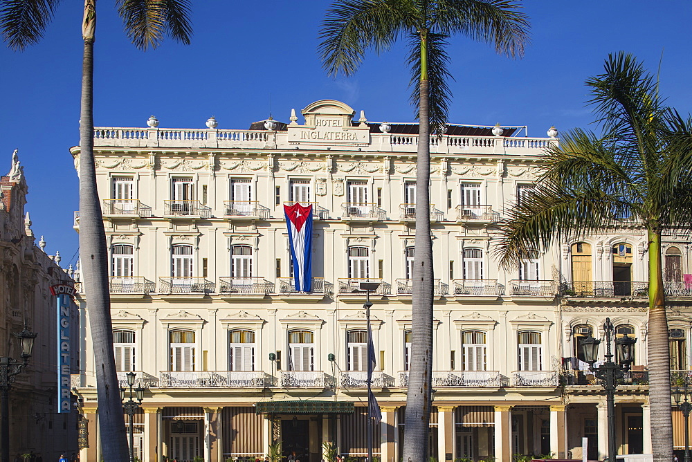 Hotel Inglaterra, Parque Central, Havana, Cuba, West Indies, Central America