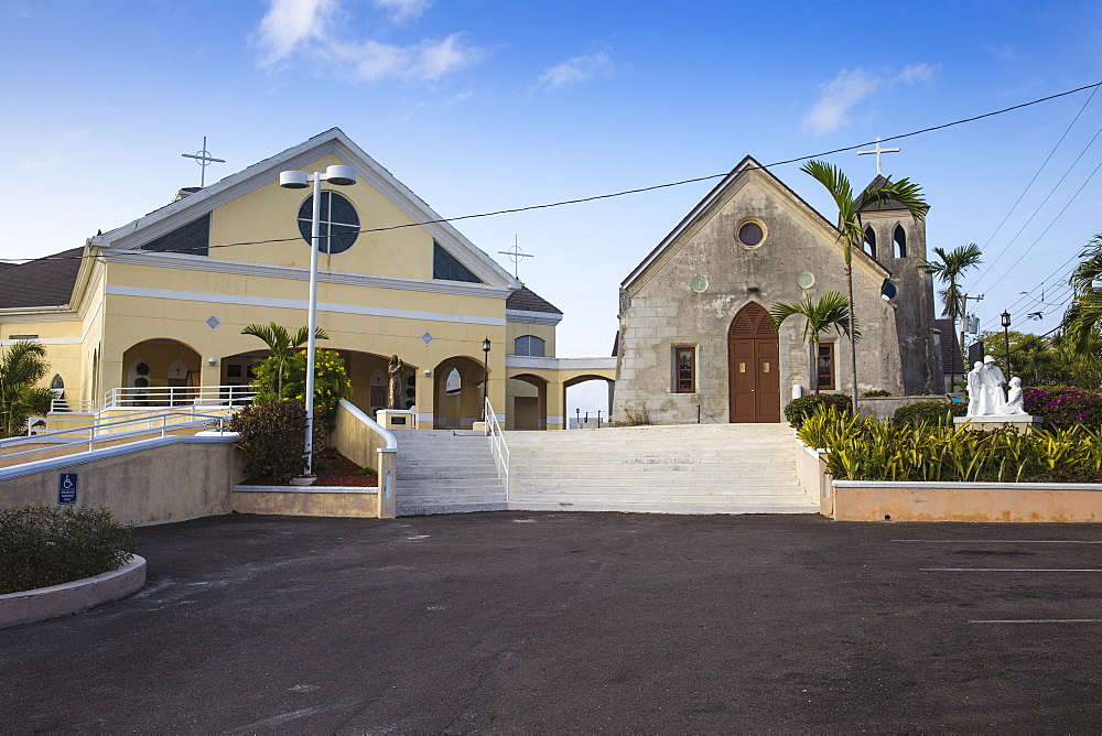 St. Francis Xavier Cathedral, Nassau, Providence Island, Bahamas, West Indies, Caribbean, Central America