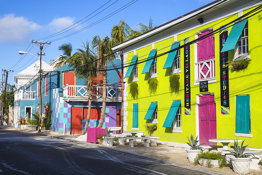 Heritage village, Nassau, Providence Island, Bahamas, West Indies, Caribbean, Central America