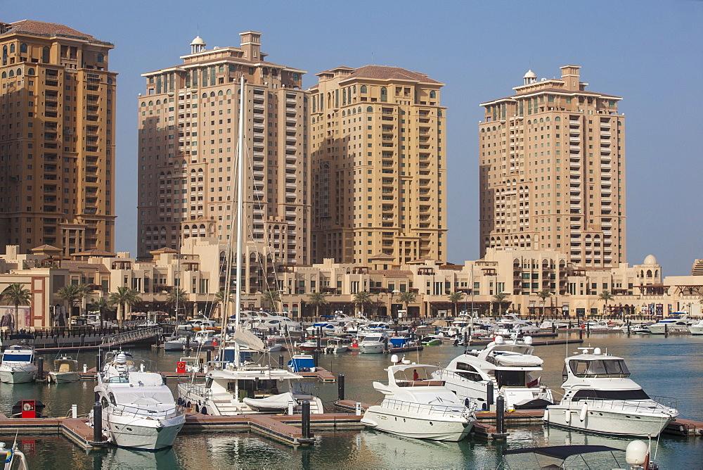 Marina at The Pearl Qatar, Doha, Qatar, Middle East