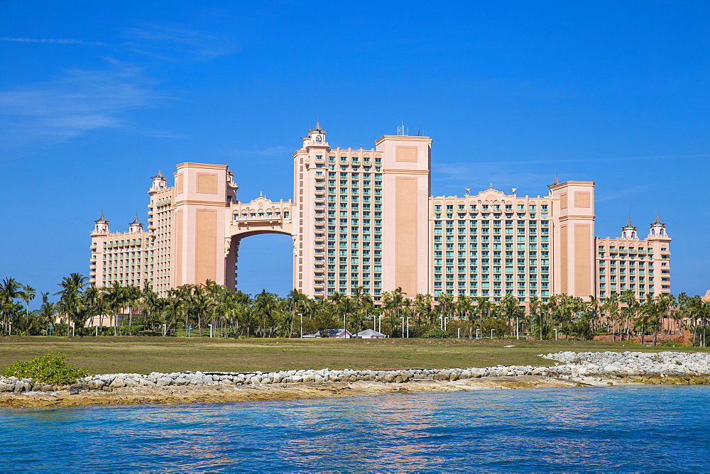 Atlantis resort, Paradise Island, Nassau, Bahamas, West Indies, Caribbean, Central America