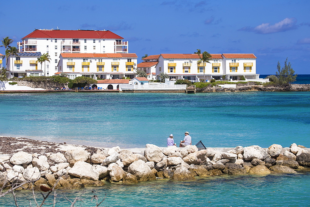 Sandyport Beach, Nassau, Providence Island, Bahamas, West Indies, Caribbean, Central America