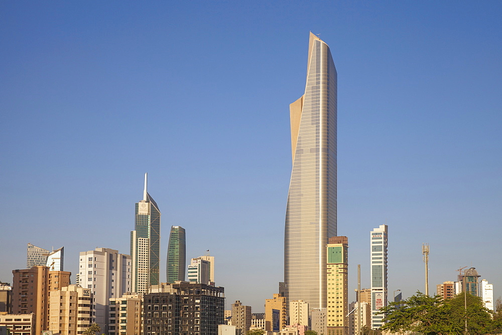 El Hamra Building, a business and luxury shopping center, Kuwait City, Kuwait, Middle East