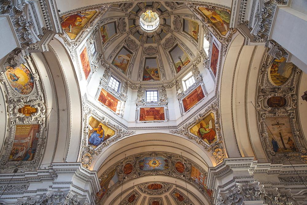 Salzburg Cathedral, Salzburg, Austria, Europe