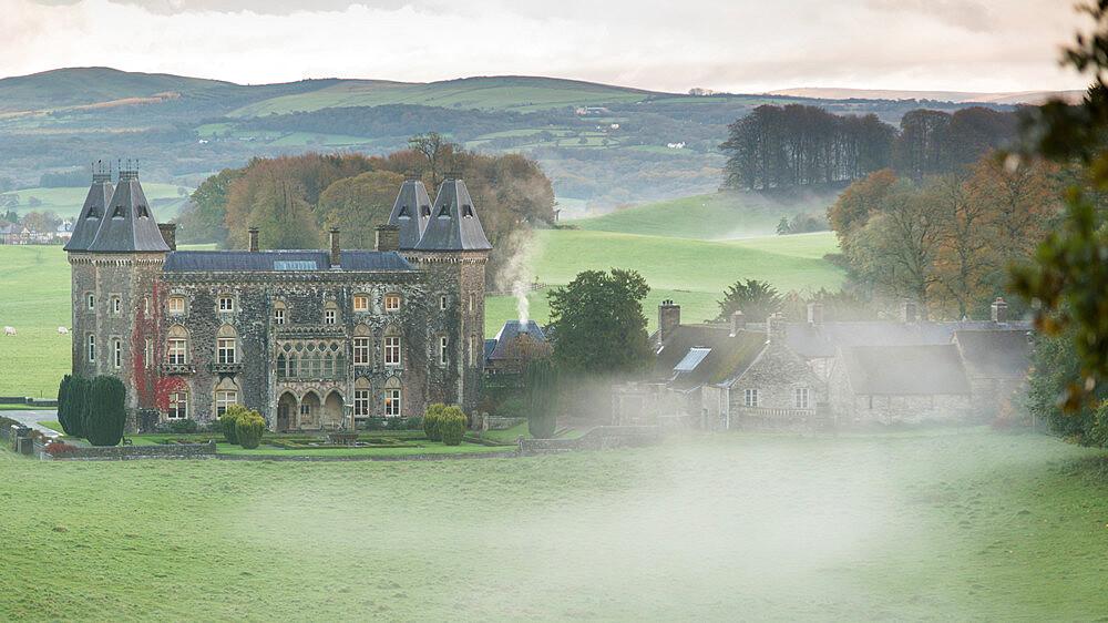 Newton House, Dinefwr Park near Llandeilo, Carmarthenshire, Wales, United Kingdom, Europe - 1108-57