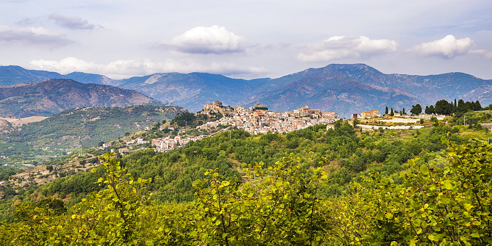 Castiglione di Sicilia, a small village on Mount Etna Volcano, Sicily, Italy, Europe